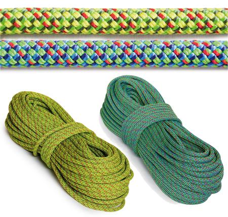Cuerda dinamica para uso en doble civetta 8,5mm 60 metros