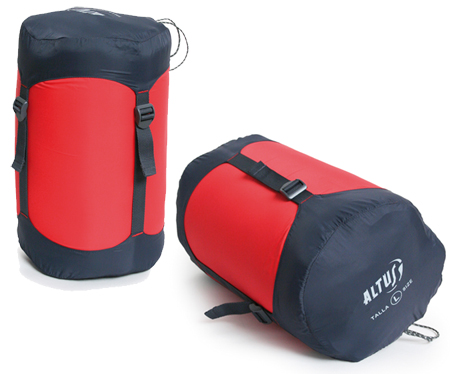 Funda bolsa de compresion ultraligera para sacos de dormir