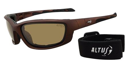 Gafas para hacer deporte y para la montaña de la marca aragonesa altus