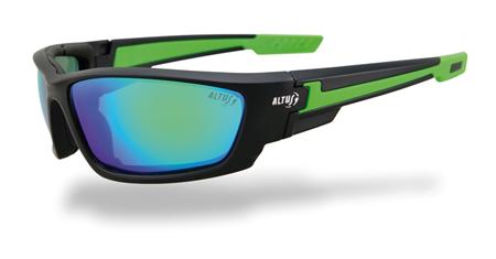 gafas solares para deporte Emerald de Altus verdes