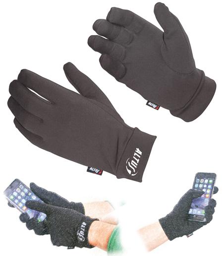 guantes táctiles para moviles y tablet modelo Volcano touch de altus
