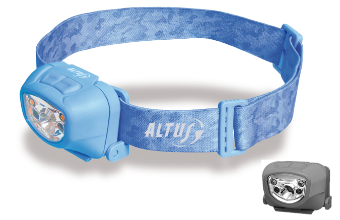 Linterna frontal led de altus aries
