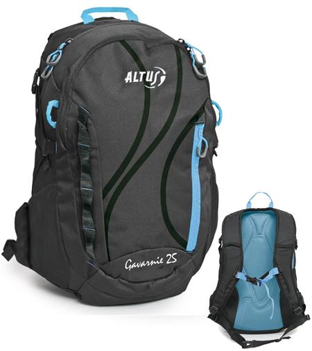 Mochila deportiva para excursiones de montaña, bicicleta, senderismo.. modelo Gavarnie de 25 litros fabricado por la marca Española Altus