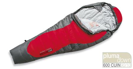 saco de dormir para temperaturas intermedias