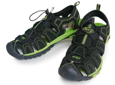 sandalias más cerradas para proteger mejor el pie