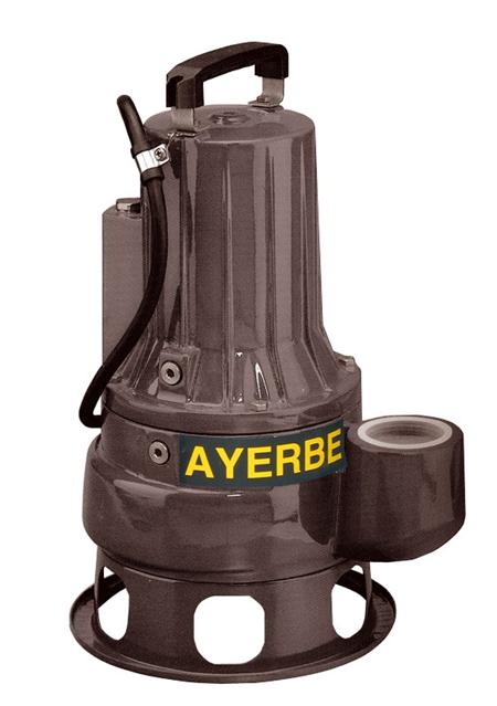 Bomba sumergible AY 2050 VXC TX 5860030-5860040 Ayerbe