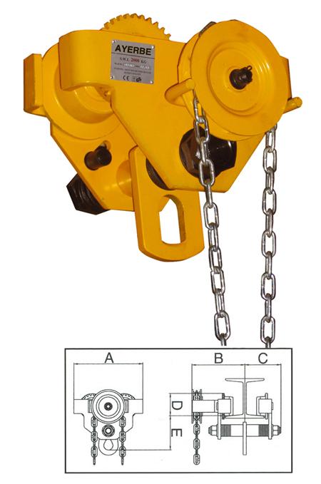 Carro cadena Ayerbe AY-2000-CTC