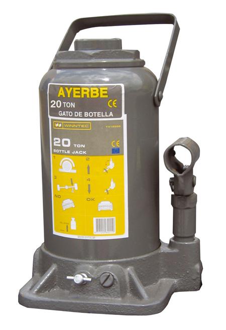 Gato hidraulico botella AY 20 GB 581850 / 860 Ayerbe