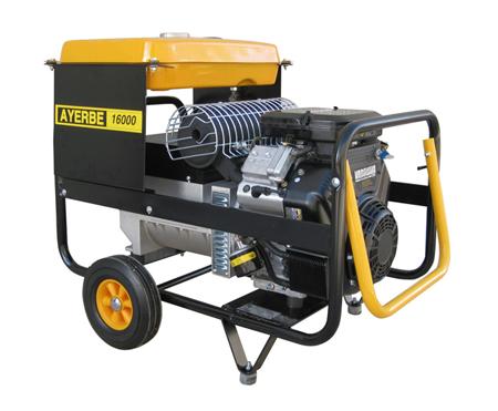 Generador Ayerbe 16000 V TX trifásico.