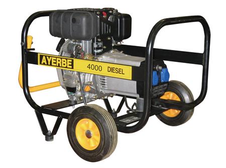 Generador Ayerbe diesel de 3000 rpm