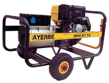 Generador Ayerbe 8000 KT