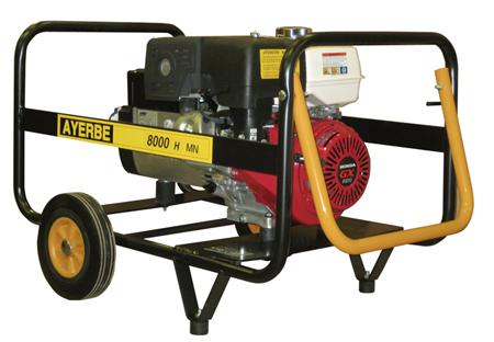 Generador Ayerbe 8000 H MN A/E a gasolina.