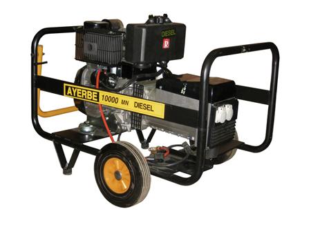 Generador diesel AY 10000 D MN Ref. 5418460 Ayerbe
