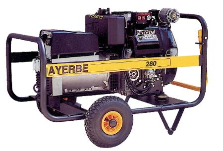 Motosoldadura diesel Ayerbe 280 DC