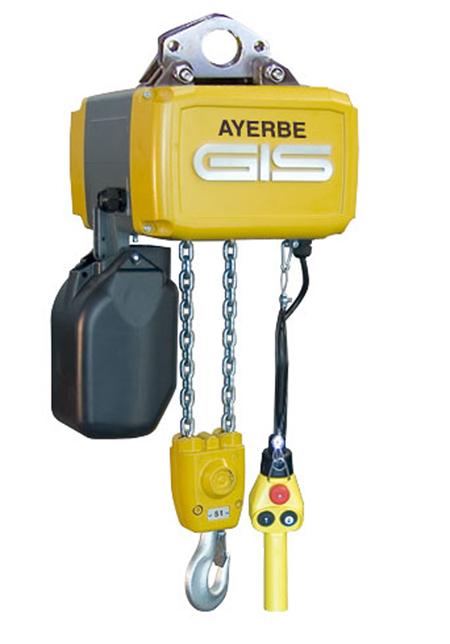 Polipasto de cadena GCH 250/2 N 581500 - 510 Ayerbe