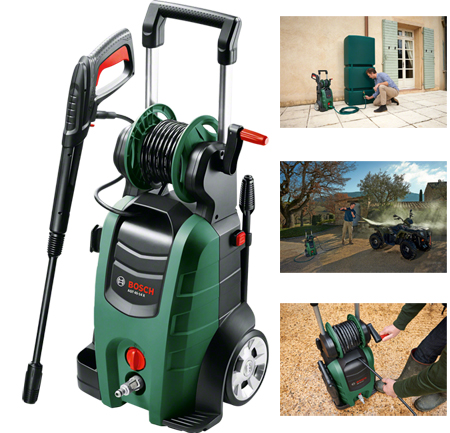 limpiadoras alta presión aqt 45-14x de la gama Jardin de Bosch