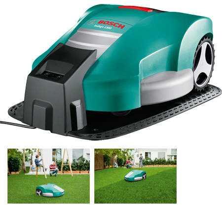 Cortacesped Bosch Jardin Indego 1300 robot 0.600.8A2.200