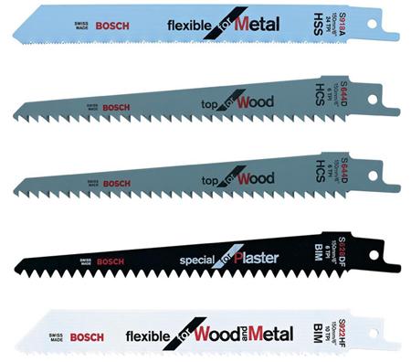 surtido de cuchillas para sierra de jardin keo a bateria bosch
