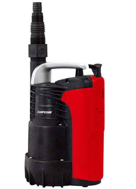 Electrobomba sumergible para extraccion de aguas claras / sucias