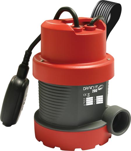 Electrobombas sumergibles para achique de aguas claras