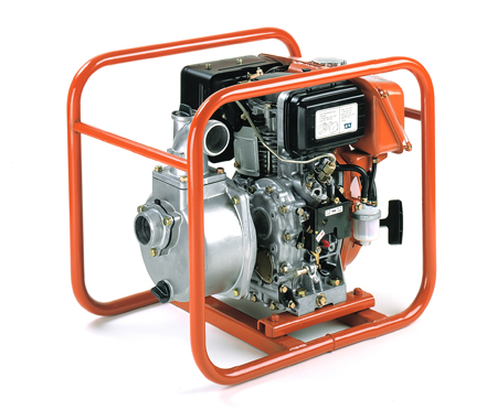 motobomba con motor robin diesel