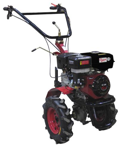 Motoazadas con motor de gran cilindrada