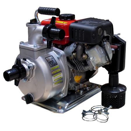 bomba de trasvase de agua con motor de gasolina de cuatro tiempos