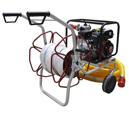 Motobomba para la lucha contra incendios
