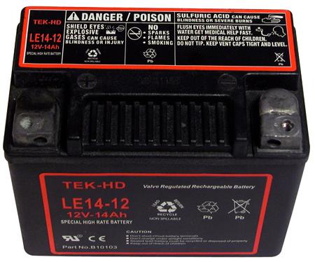 Bateria de repuesto para arrancadores de emergencia