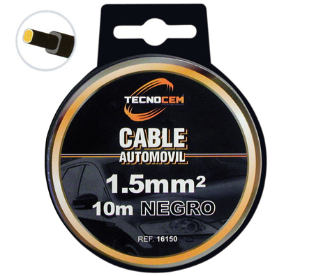 cable para coche recubierto
