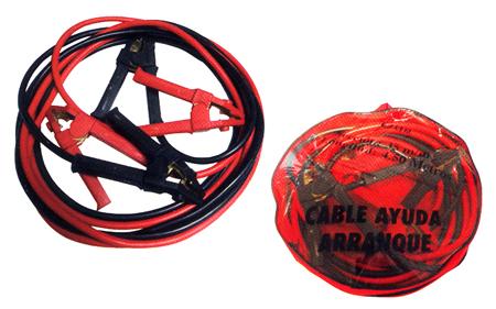 Cable de arranque con pinzas bateria cem ref. 1025