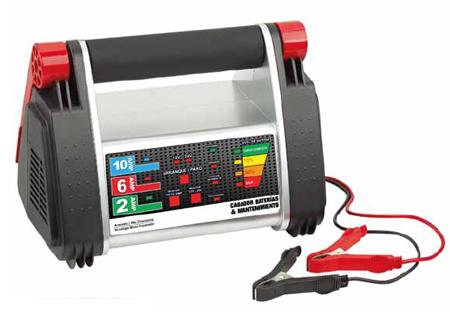 cargadores de bateria Cem con microcontrolador integrado 12/24V