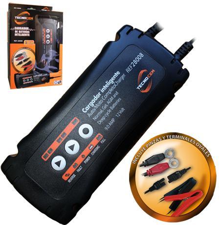 Cargador de baterias Tecnocem Ref: 28008