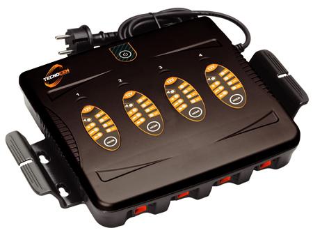 Cargador de múltiples baterías a la vez