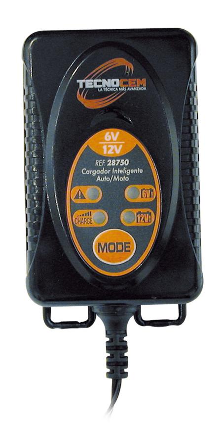 Cargador de baterias de Tecnocem. Ref: 28750