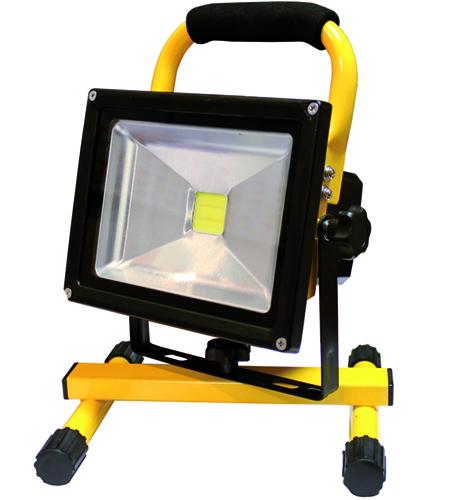 Foco proyector de luz led portatil