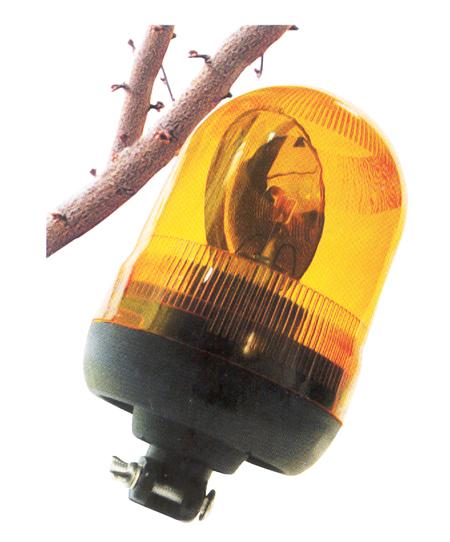 Luz rotativa naranja ref. 11045 tecnocem