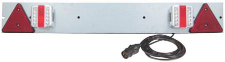 Barra señalización posterior de LED