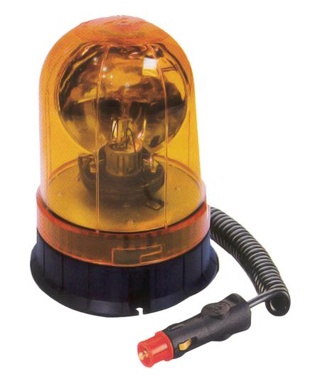 Luz giratoria naranja 12/24 voltios cem ref. 11224