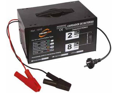 cargador batería automático de banco