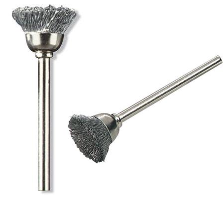 cepillo de acero al carbono dremel 13 mm.