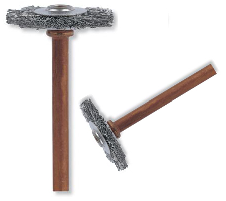 accesorio para multiherramientas con cerdas de acero inoxidable