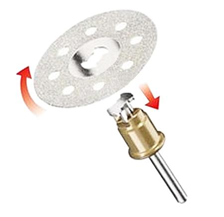 Accesorios para cortar de dremel brocas y discos de corte for Disco de diamante