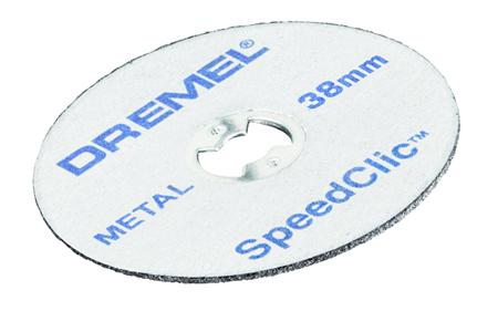 Discos speedclic dremel sc456 ref. 2.615.s45.6jc/6jd
