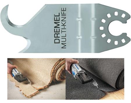 Cuchilla dremel mm430 multimax para gran variedad de materiales