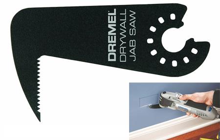 Hoja de sierra dremel en punta para herramienta multi-max
