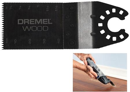 Hoja de corte en madera a nivel mm480 Dremel para multi-max
