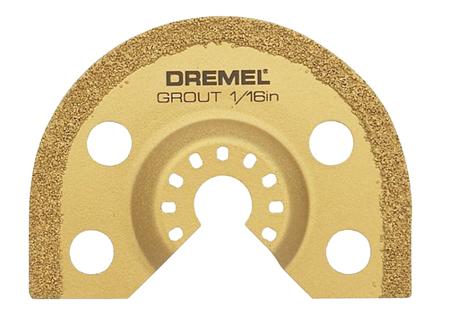 disco diamante para lechada de baldosas dremel m501