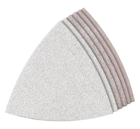 lijas triangulares de velcro para pinturas dremel m70p