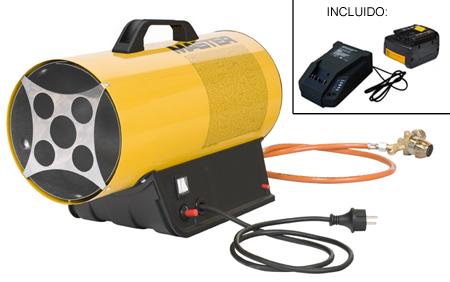 ca��n de calor a gas butano/propano con bateria blp 17 m dc
